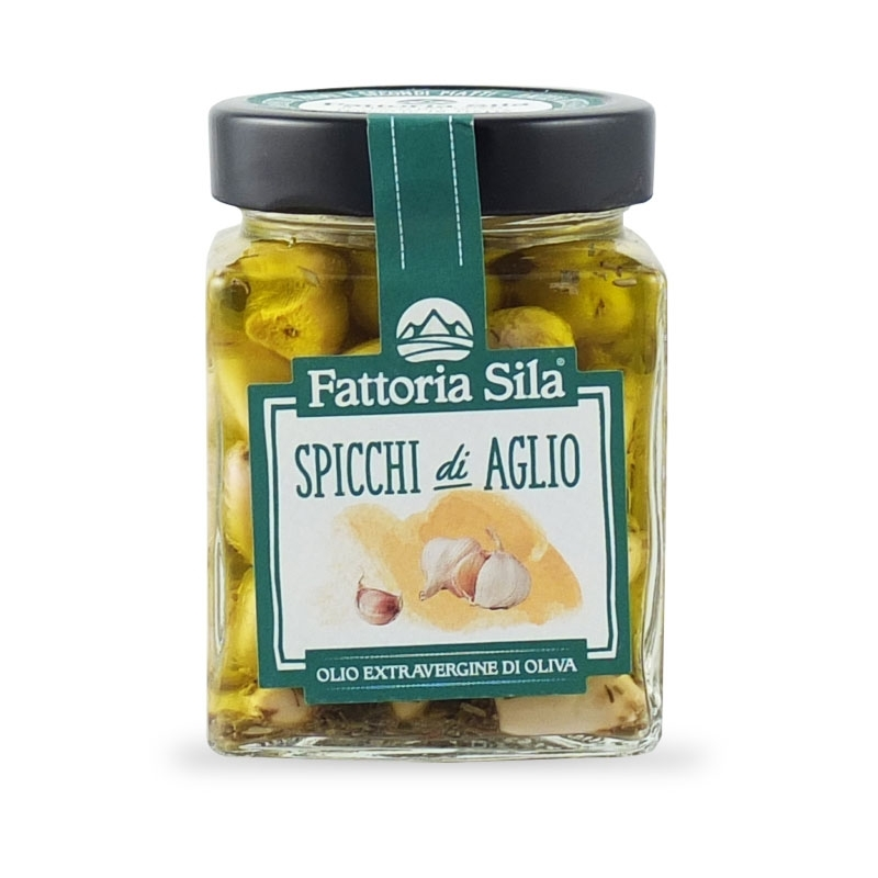 Vessalico garlic Sweet and Sour, 194 gr. - A Resta Società Cooperativa Agricola