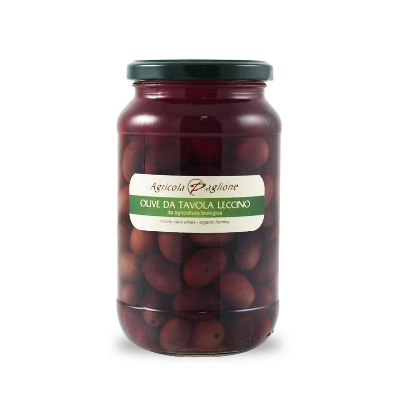 Olive da tavola Leccino, 300 gr - Agricola Paglione