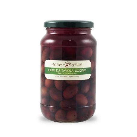 Table olives Leccino, 300 gr - Agricola Paglione