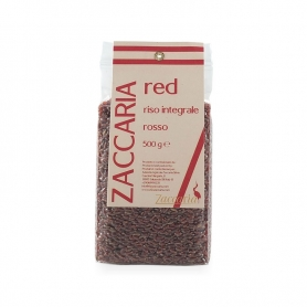 Riz intégral Rouge « Rouge », 500 gr. - Zaccaria