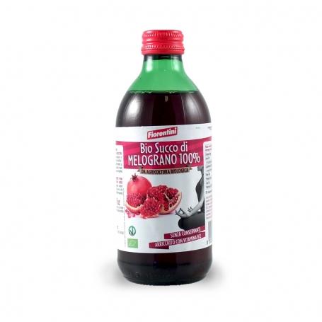 Succo di Melograno 100% Bio, 330 ml - Fiorentini - Succhi di frutta