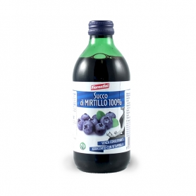 Succo di Mirtillo 100%,  330 ml - Fiorentini