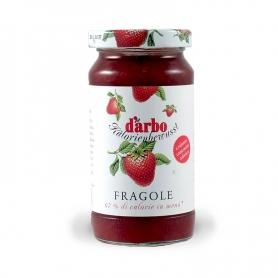 confiture de fraises à teneur réduite en calories, 220 gr. - D'Arbo