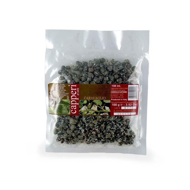 Salina capers, 1 kg bag - Size 7