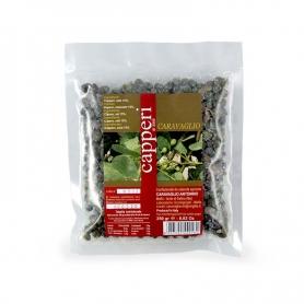 Capers de sel Salina, 250 gr - Caravaglio