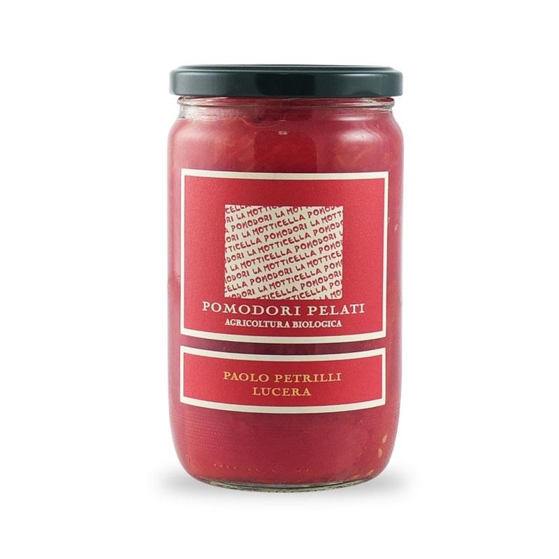 peeled tomatoes - Paolo Petrilli, 300 gr