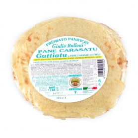 Bread Carasau Guttiau, 500 gr - Awarded Giulio Bulloni Artisanal Bakery
