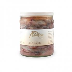 anchois salés, 1.850 kg - Delfino Battista