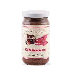 Pate Rouge radicchio, 140 gr - Ca « de la Pasina - Sughi di Verdura