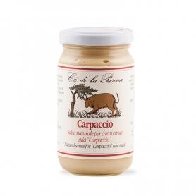 Salsa Carpaccio, 180 gr - Ca 'de la Pasina