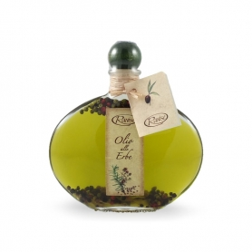 Assaisonnement herbes à base d'huile d'olive extra vierge, 200 ml - Ranise