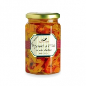 Peperoni a filetti, 280 gr - Carlino