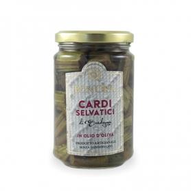 Disteln im wilden sardischen Olivenöl, 280 gr - Bon'Ora