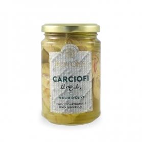 artichauts Sulcis dans l'huile d'olive, 280 gr - Bon'Ora