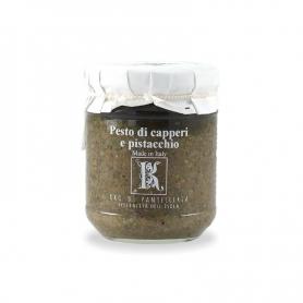 Pesto di capperi e pistacchio, 195 gr - Kazzen