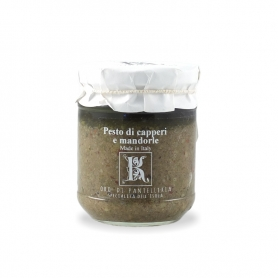 Pesto capers and almonds, 180 gr - Kazzen
