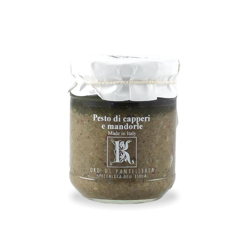 Pesto capers and almonds, 180 gr - Kazzen