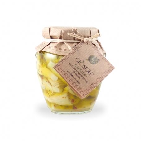 Artischocken in natives Olivenöl extra, 280 gr - Masseria GiòSole