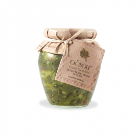 turnip greens in extavergine olive oil, 280 gr - Masseria GiòSole