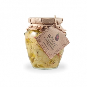 Melanzane in olio extravergine di oliva, 280 gr - Masseria Giòsole