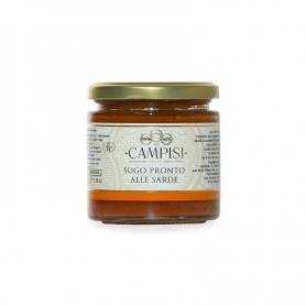 Bereit Sauce mit Sardinen, 220 gr - Campisi
