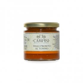 Sauce tomate au thon, 200 gr - Société Campisi