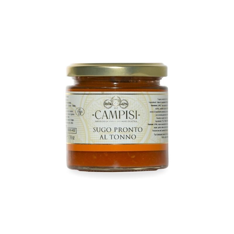 Tomato sauce with tuna, 200 gr - Company Campisi