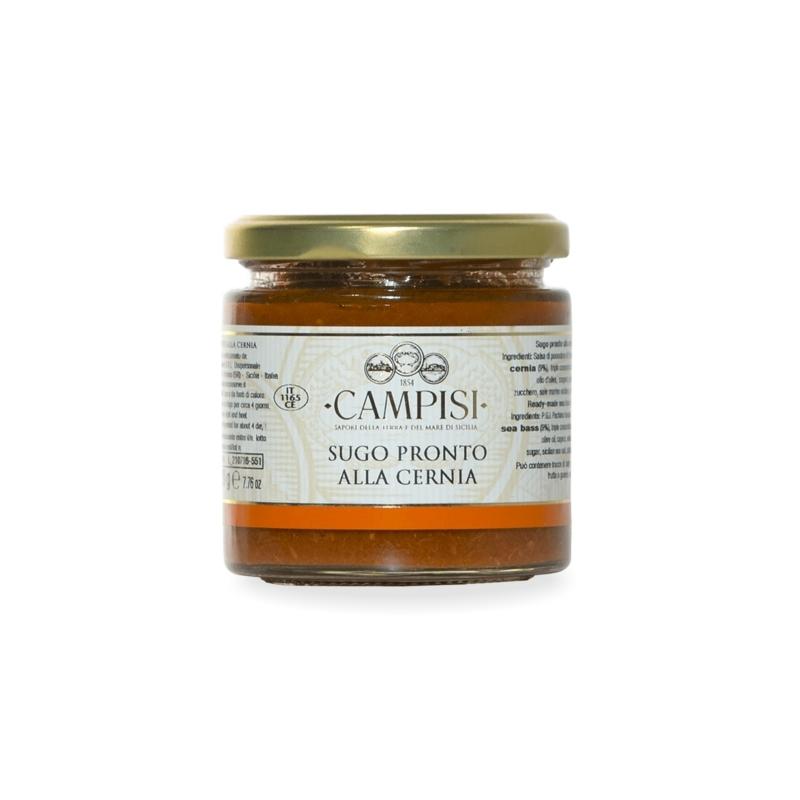Gravy avec mérou, 200 gr - Société Campisi