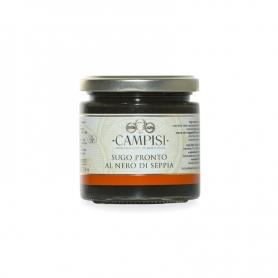 Sauce tomate avec de l'encre de seiche, 200 gr - Azienda Campisi