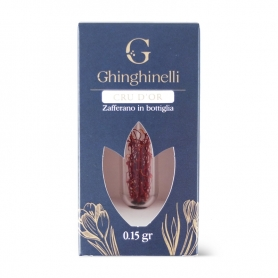 "Saffron BIO in Stimulus ""Cru d'Or"" in Bottle, 0.15 gr - Ghinghinelli"