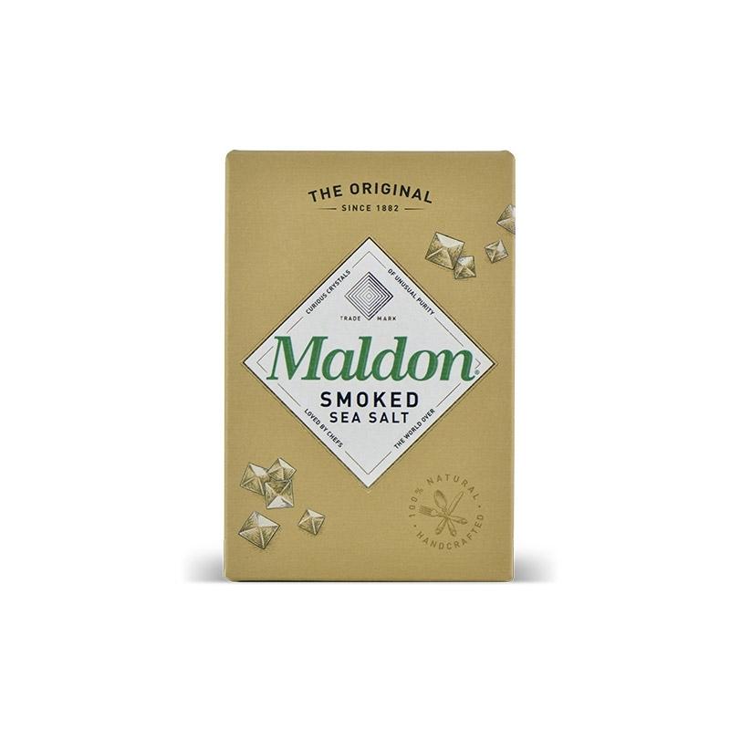 England - Sale of smoked Maldon, 125 gr