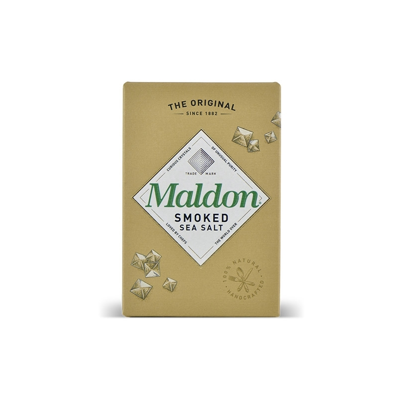 England - Sale of smoked Maldon, 125 gr