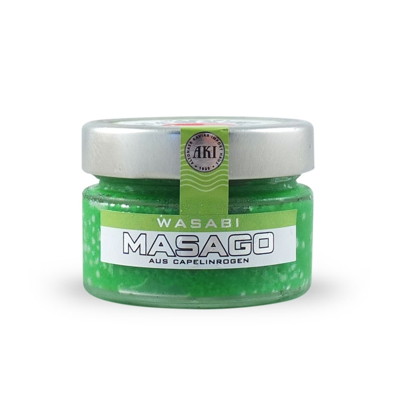 Eggs flavored smelt to Wasabi 100 gr