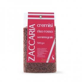 """Riz rouge intégré """"Crimson"""", 500 gr. - Zaccaria"""