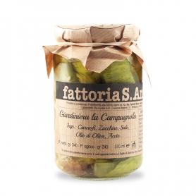Giardiniera Campagnola, 240 gr. - Farm Sant'Anna