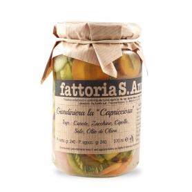 Giardiniera Capricciosa, 240 gr. - Fattoria Sant'Anna