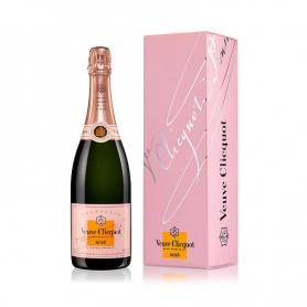 Champagne Veuve Clicquot Ponsardin Rosè, l. 0,75 - astuccio 1 bott - Gli Champagne