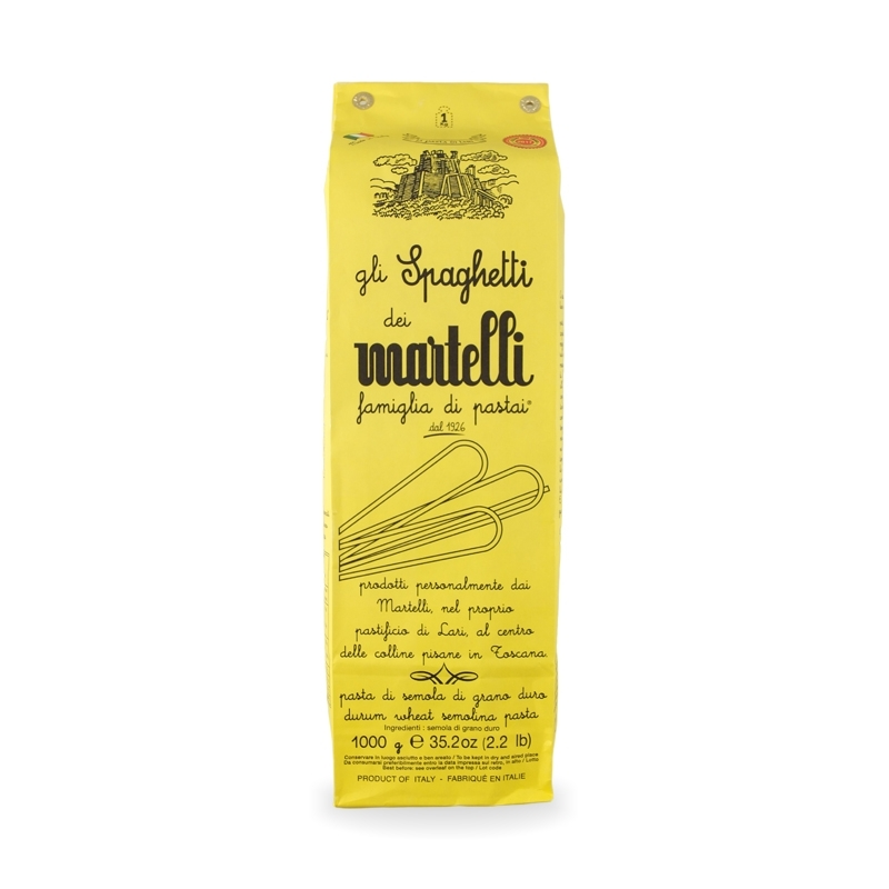 Spaghetti 1 kg - Pastificio Martelli