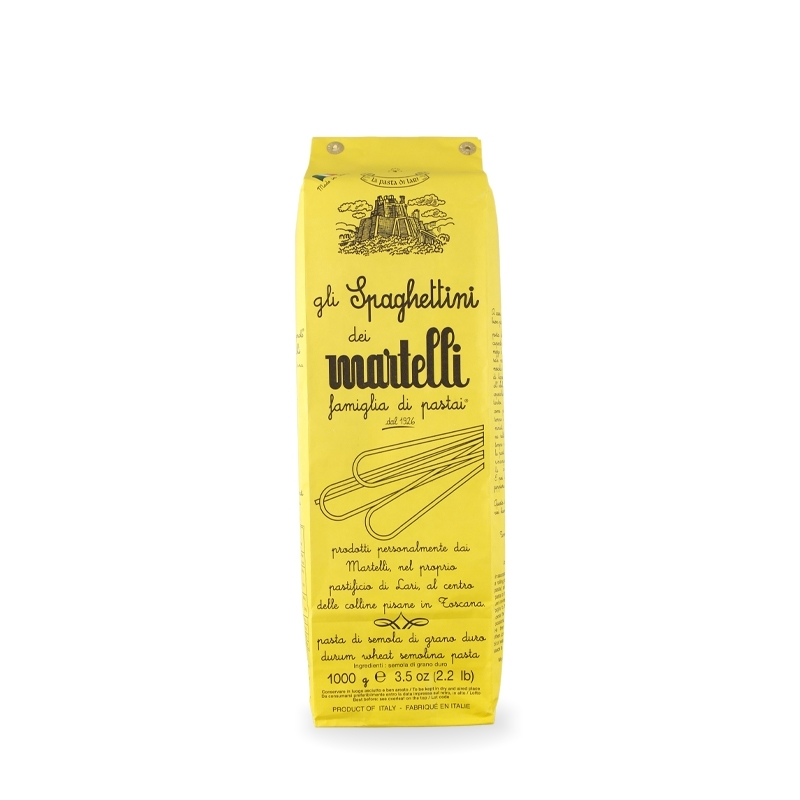Spaghettini 1 Kg - Pastificio Martelli