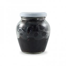 Baked black olives, 290 gr. - Urselli