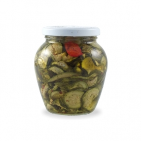 courgettes grillées, 290 g. - Urselli