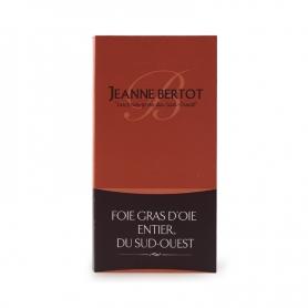 Foie gras entier d'oie I cuit Natur, 90 gr - Jeanne Bertot