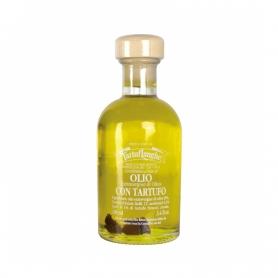 Condimento a base di olio extravergine di oliva con Tartufo Nero - specie botanica, 100ml - Tartuflanghe
