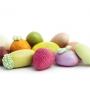 Scatola confetti colorati al gusto frutta