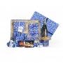 Confezione natalizia Natale in Bianco e Blu - N°4