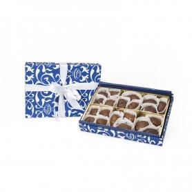 Marron Glaces artigianali in scatola regalo, 250 gr