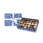 Assorted stuffed pralines in gift box, 400 gr