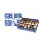 pralines fourrées assorties dans un coffret cadeau, 400 gr