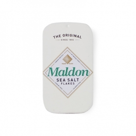 Maldon salt in an elegant tin, 9.5 gr