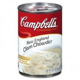 palourdes crémeuse soupe Campbell, 305 g
